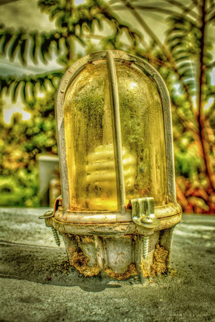 HDR LAMP PHOTO